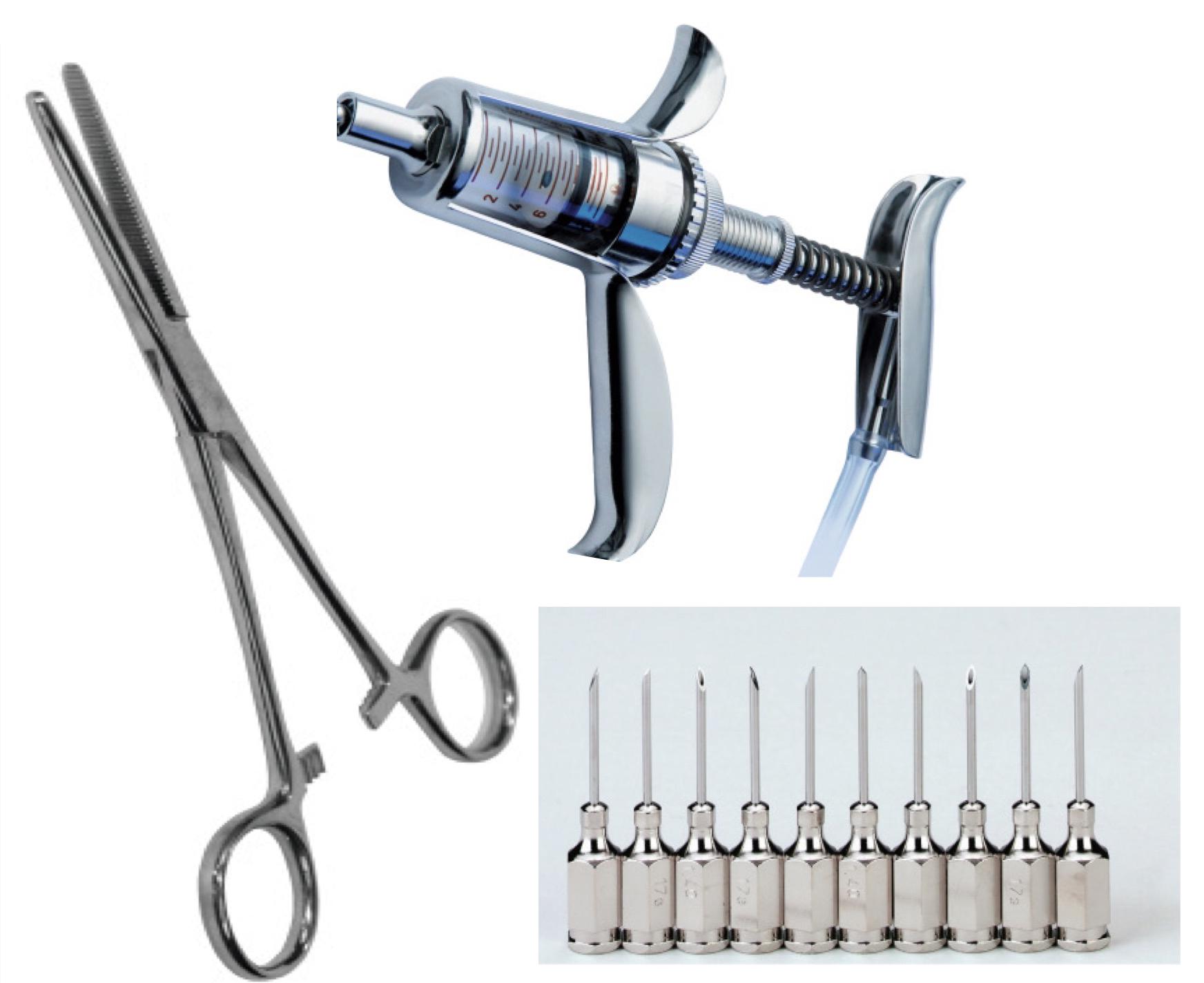 ابزار جراحی دامپزشکی آلمانی